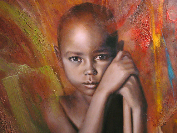 Hope, oil painting