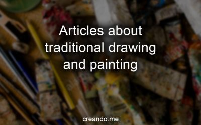 Articles about traditional drawing and painting (hub page)