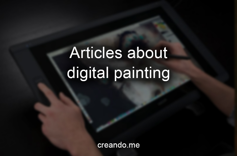 Articles about digital painting (hub page)