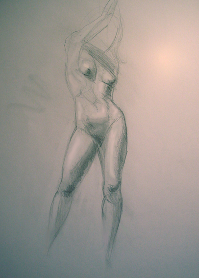 Boceto de mujer -1