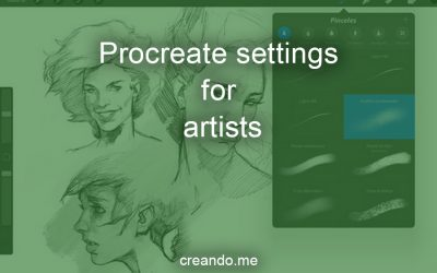 Procreate settings for artists