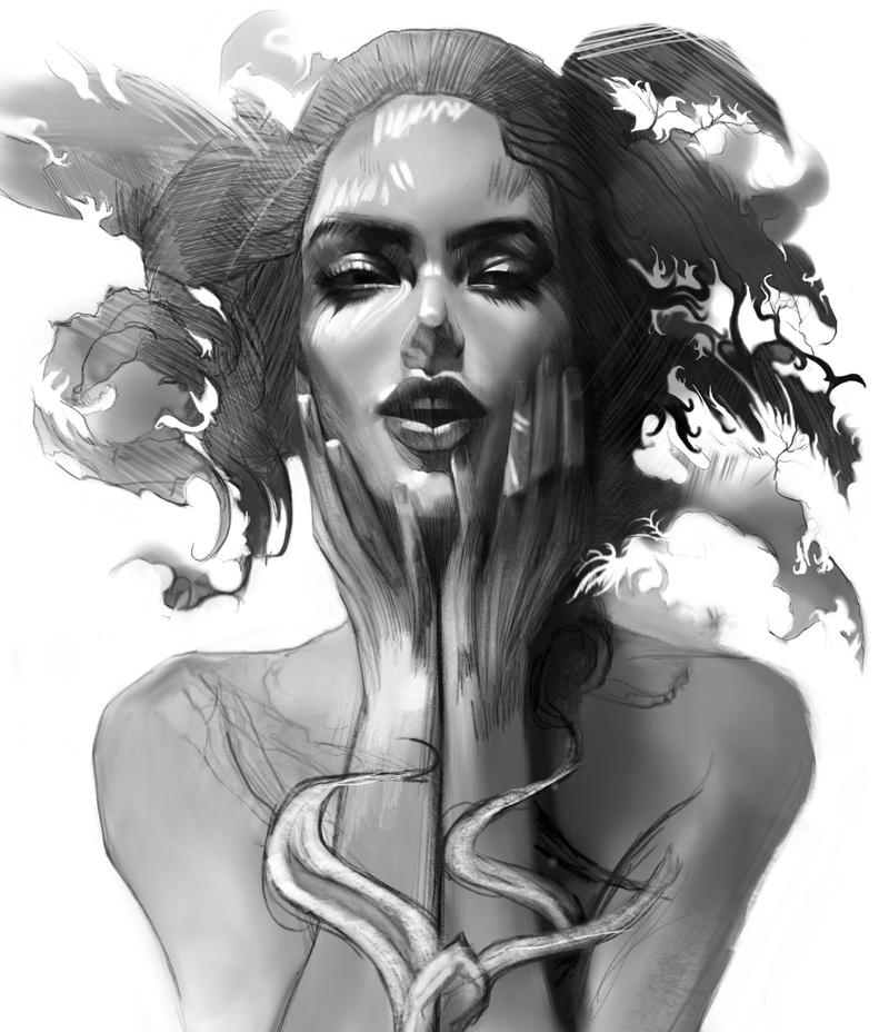 Illustration sketch