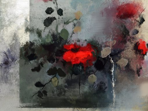 Roses, digital study