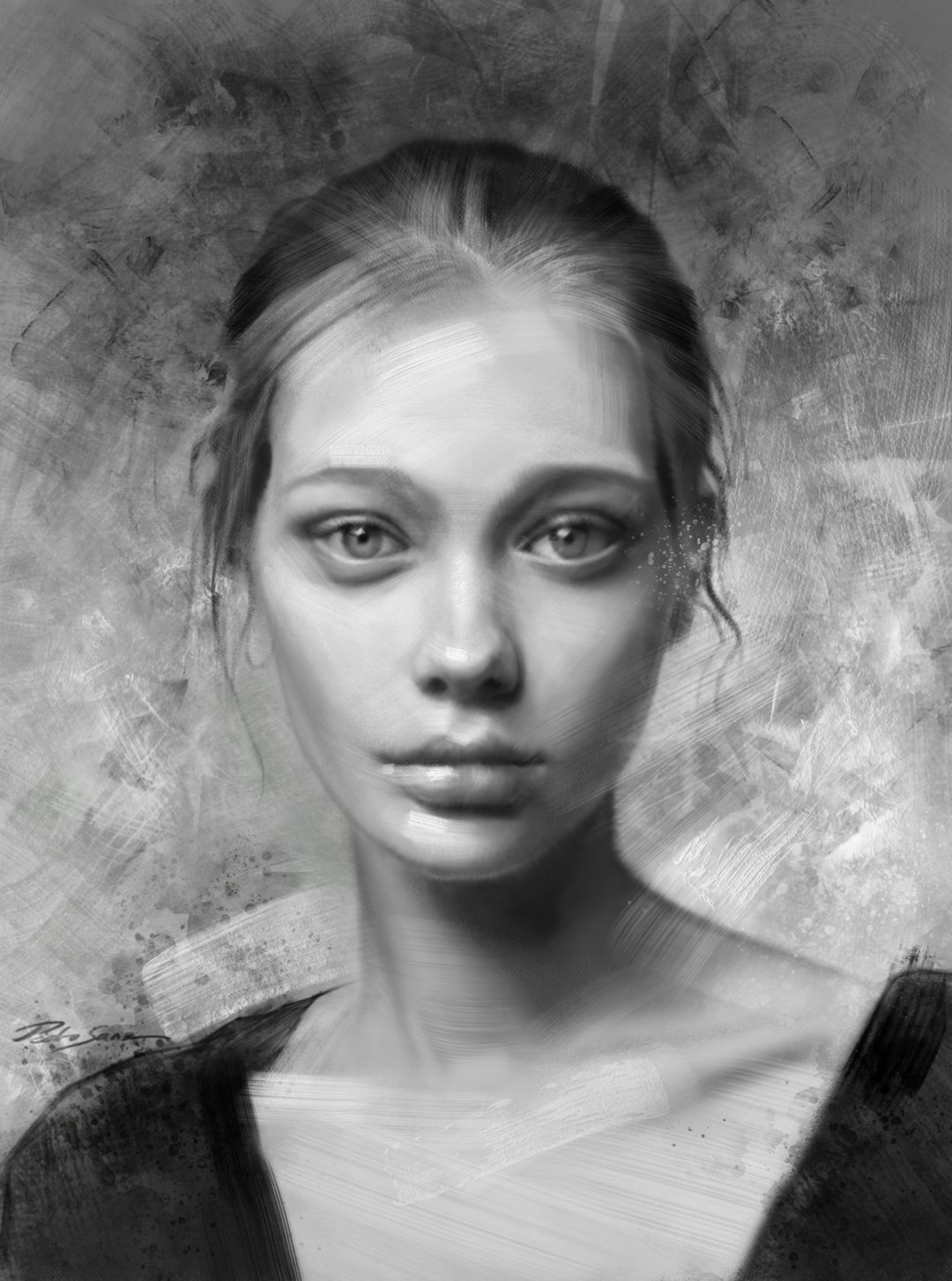 Portrait of Tanya