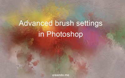 Advanced brush settings in photoshop