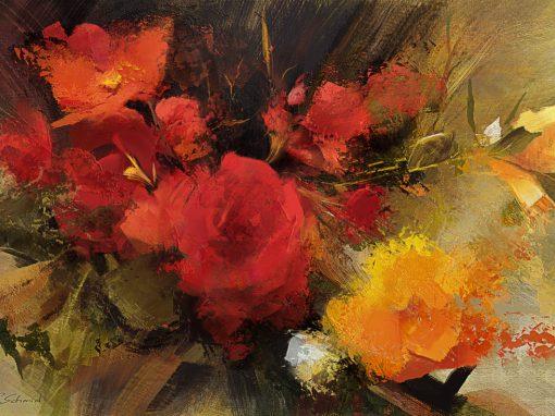 Roses study, after Richard Schmid