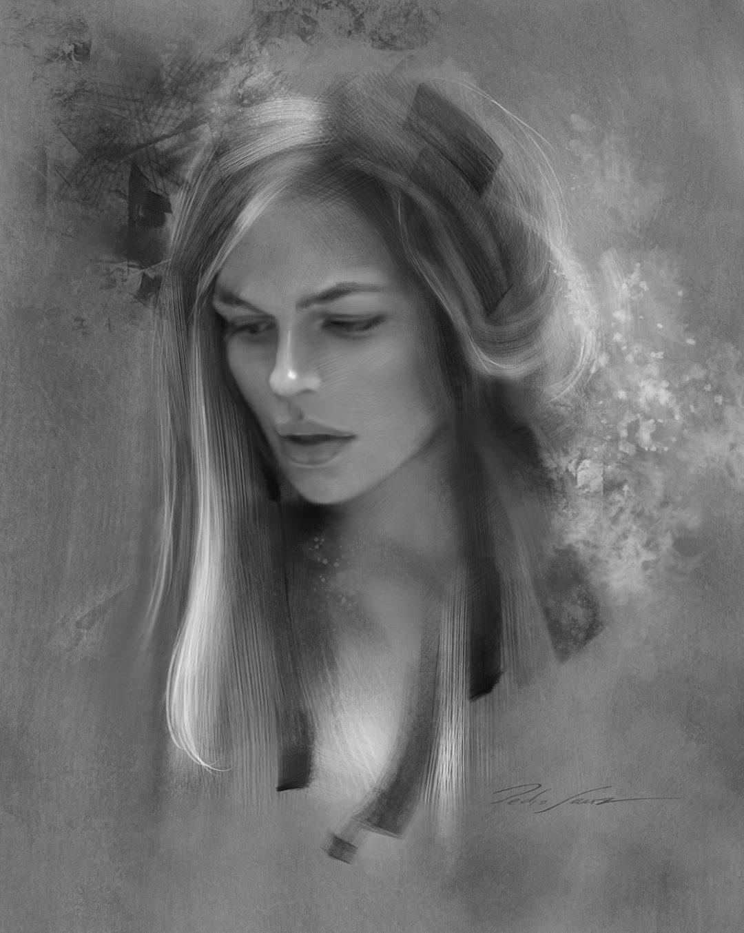 Woman portrait design