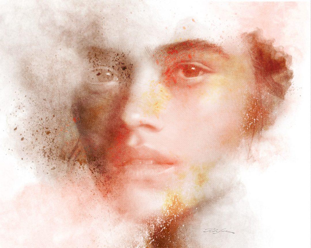 Flow and particles portrait