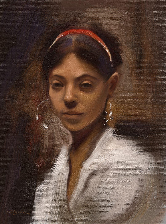 Woman of capri – John Singer Sargent