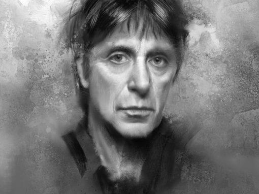 Al Pacino portrait