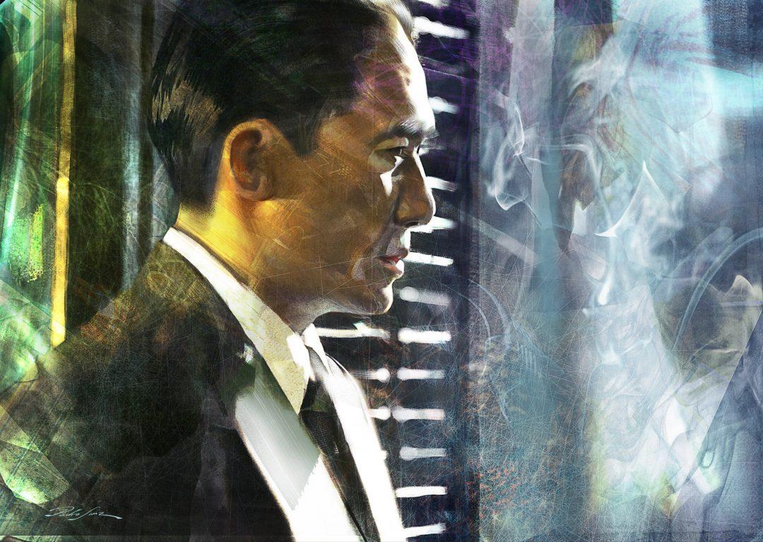 Tony Leung portrait
