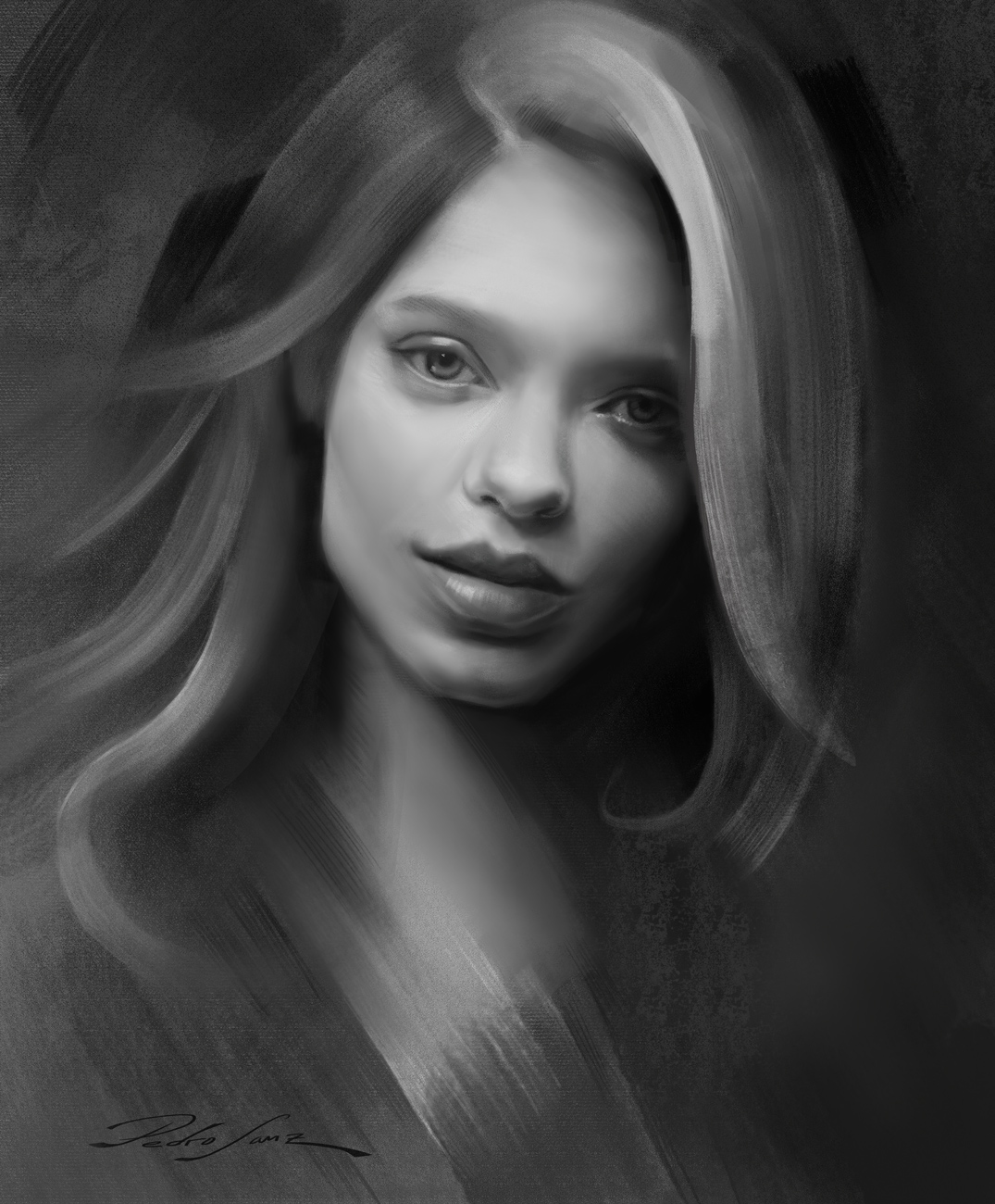 Portrait drawing Nov 2018