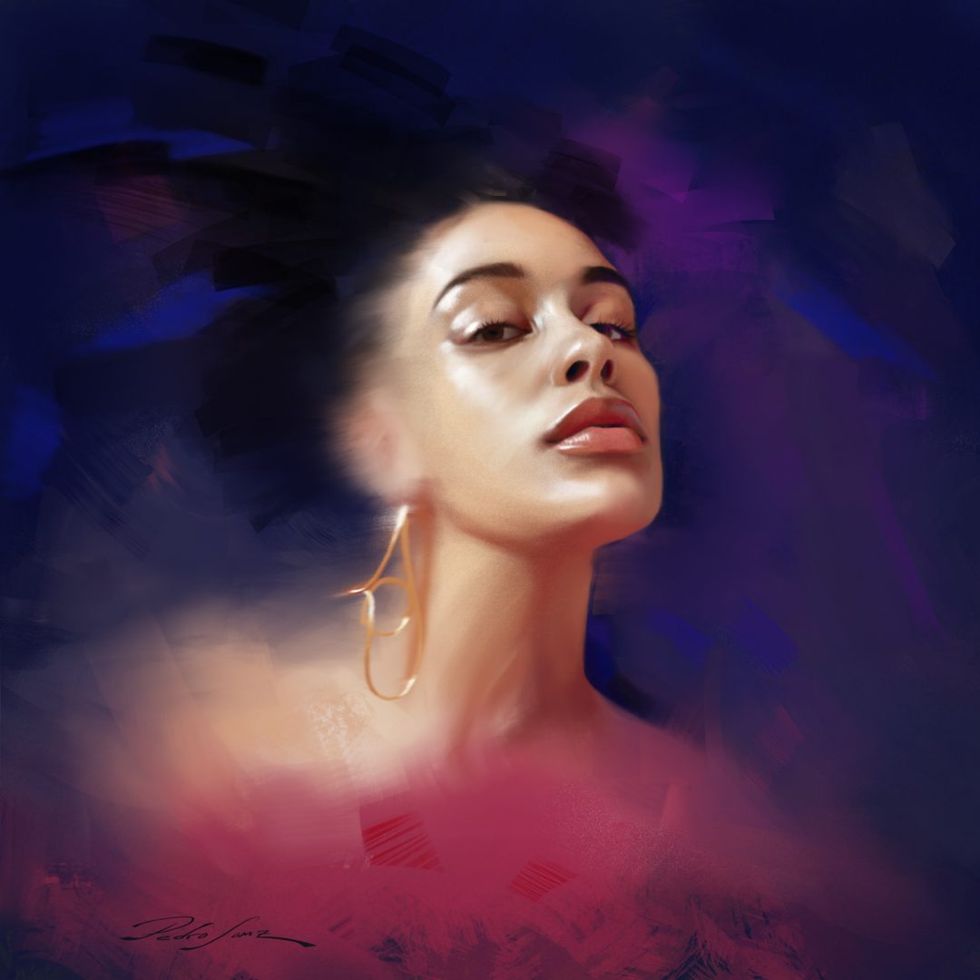 Portrait of Jorja Smith