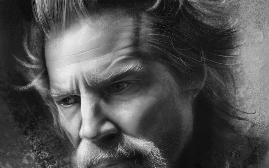 Jeff Bridges drawing