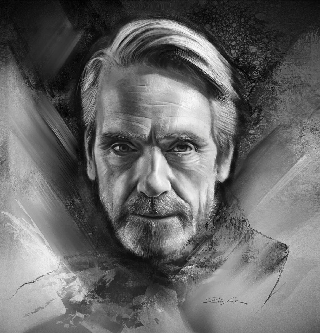 Jeremy Irons portrait